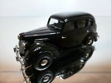 WESTERN MODELS 95 AUSTIN 10 SALOON 1947 - BLACK 1:43 - EXCELLENT CONDITION - 15