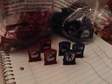 2013 Stratego Game Parts  Red And Blue Armies  30 Of Each Free Shipping