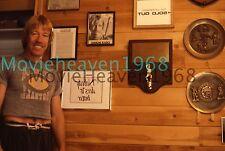 Chuck Norris  35MM SLIDE TRANSPARENCY 7868 PRESS KIT PHOTO