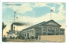 Sept 10, 1924 Alakea Wharf, Honolulu, Hawaii Real Photo Pm Postcard