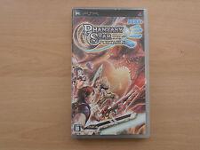 Phantasy Star Portable. Sony Psp. Japón importación Ntsc. región libre.