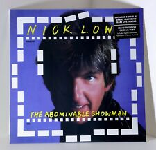 """NICK LOWE The Abominable Showman VINYL LP + 7"""" 45rpm Single SEALED"""