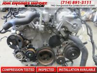 2006-2009 NISSAN 350Z INFINITI G35 ENGINE JDM VQ25-HR REV UP 2.5L REP 3.5L VQ35