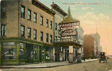 "A View Of Proctor's ""Bijou Dream"" Theatre, Elizabeth New Jersey NJ 1912"