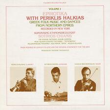 Periklis Halkias - Epirotika: Greek Folk Music Northern Epirus 1 [New CD]