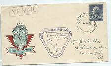 Cocos (Keeling) Islands -Mainland 1955 Cover Special Cachet With Postmark