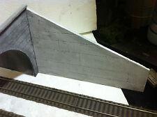 muro di contenimento per plastici e diorami ferroviari h0