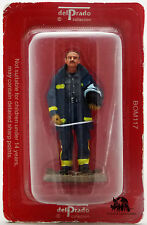 Figurine Collection Del Prado Pompier Tenue de Feu Madrid Espagne 2004 Figurilla