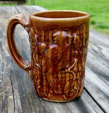 Vintage Parrot Mug Stoneware