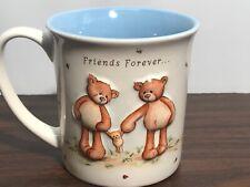 Gotta Getta GUND FRIENDS FOREVER Coffee Mug 3 Dimensional Teddy 12oz NICE!!