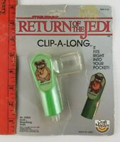 Vintage 1983 Star Wars Return of Jedi Ewok Magnifying Glass (Package is Beat)