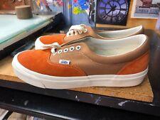Vans OG Era LX Suede Canvas Vault Rust Chipmunk Size US 10 Men's VN0A3CXNVQR New