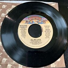 """45 Promo Ritchie Family """"All My Love"""" Casablanca Nm"""