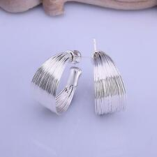 925 Silver Earrings Ear Stud Charm Women Fashion Jewelry Party Gift
