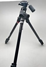 Manfrotto 055CLB black aluminium tripod with 141RC 3 way pan and tilt head