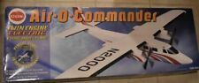 Cox Air-O-Commander Twin Engine Electric Flying Model Plane #8207