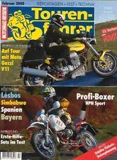 TF0002 + Test MOTO GUZZI V11 Sport + Fahrbericht BMW HPN + Tourenfahrer 2/2000