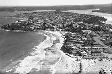 CRONULLA Isthmus looking toward Hacking River circa 1950 modern digital Postcard