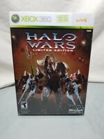 Halo Wars Limited Edition (Microsoft Xbox 360, 2009) Complete Collectors