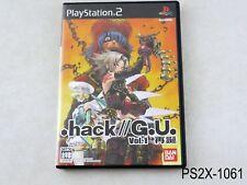 .hack//G.U. Vol 1 Playstation 2 Japanese Import Japan dot hack PS2 US Seller B