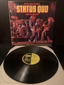 "STATUS QUO - DOWN THE DUSTPIPE - 12"" VINYL LP - Great Condition"