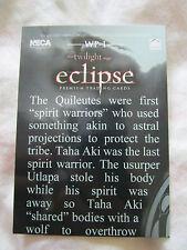 Twilight Eclipse Neca Trading Card WP-1 Robert Pattinson , Kristen Stewart
