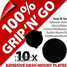 10 X2 Pama Adhesive Dash Dashboard Plates Suction Cup Mobile Smart Phone SAT NAV