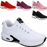 Womens Cushion Athletic Sneakers Sport Walking Breathable Running Shoes Gym Size