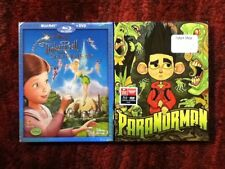Tinkerbell and the Great Fairy Rescue + ParaNorman : Two New Blu-ray