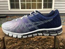 Men's Asics Gel Quantum 180 Running Shoes Size 11 Blue/Silver