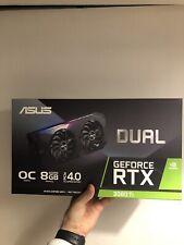 ASUS GeForce RTX 3060 Ti DUAL OC, Grafikkarte: in ungeöffneter OVP mit Rechnung