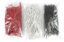 425+ Each Red/White/Black Precut Jumper Wires For Audio Patchbay Normals Etc. JW