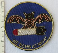 594th BOMB SQUADRON US AIR FORCE Bullion PATCH Custom Made for VETERANS