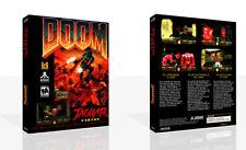 Doom atari jaguar Remplacement Rechange Game Case + Housse Art Work (NO GAME)