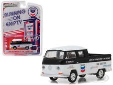 "1968 VOLKSWAGEN T2 TYPE 2 DOUBLE CAB ""CHEVRON"" 1/64 MODEL BY GREENLIGHT 41060 C"