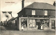More details for farnham royal near slough. j.spurge outfitter & grocer's shop by a.harrison.