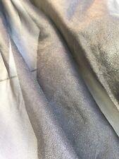 Metallic Organza 'Carbon' (per metre), dress fabric, womenswear