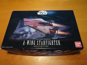 BANDAI 1/72 STAR WARS A-WING STARFIGHTER (0206320)