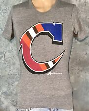 """American Apparel CLEVELAND """"C"""" Sports BROWNS Indians CAVALIERS Men's XS T-SHIRT"""