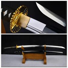 41INCH JAPANESE SAMURAI SWORD WAKIZASHI HIGH CARBON STEEL FULL TANG SHARP BLADE