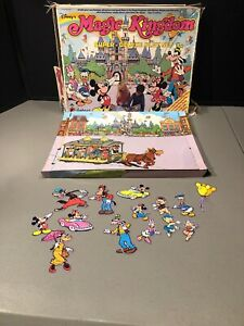 Disney's Magic Kingdom Super Deluxe Colorforms Play Set With Box