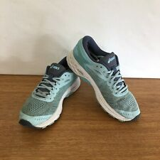 ☘️ Womens Asics Gel-Kayano 24 Athletic Running Sports Shoes Sneakers Blue Size 9