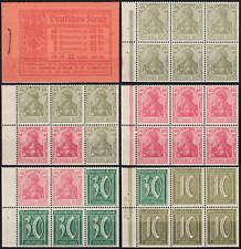 Deutsches Reich Markenheft Nr. 15A postfrisch **