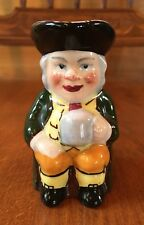 VINTAGE SMALL HAND PAINTED KELSBORO WARE TOBY JUG MADE IN ENGLAND Signed