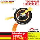Für VW T4 MULTIVAN CARAVELLE AIRBAG SCHLEIFRING WICKELFEDER 7D0959653 1H0959653E