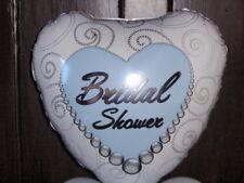 """18""""  FOIL BALLOON HEART SHAPE WEDDING BRIDAL SHOWER  HEN"""