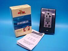 (1) COBRA CO-XGF20BK-LCC GFCI Receptable Outlet 20A 125V Black 2 POLE 3 WIRE