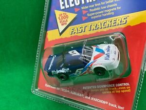 ORIGINAL LIFE LIKE FAST TRACKERS # 6 VALVOLINE WITH M CHASSIS, FITS ROKAR AMRAC
