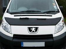 Bonnet Bra Black Vinyl Half Stone Chip Protector Guard Peugeot Expert (07-16)