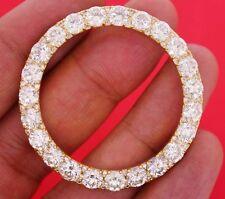 15.00 Carat Huge Huge Diamond Bezel for Rolex President 2 41mm Day Date Watch